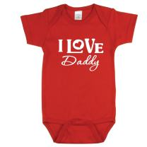 I Love My Nana, I Love My Uncle, I Love My Baby Shirts for 0 to 12 Months