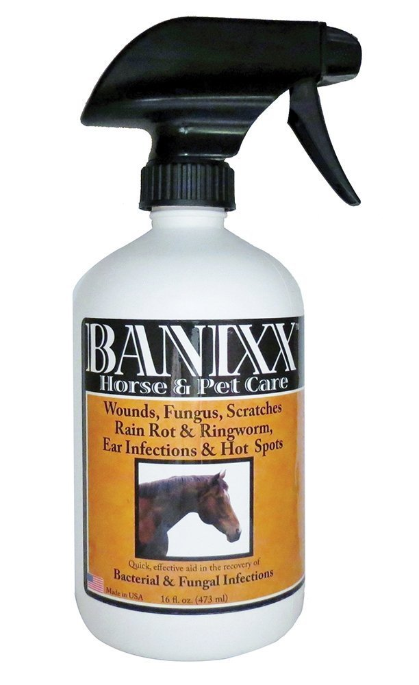 Banixx Dog/Cat Ear Infection, Hot Spot & Ringworm Treatment, Itchy Skin Relief & Ear Cleaner