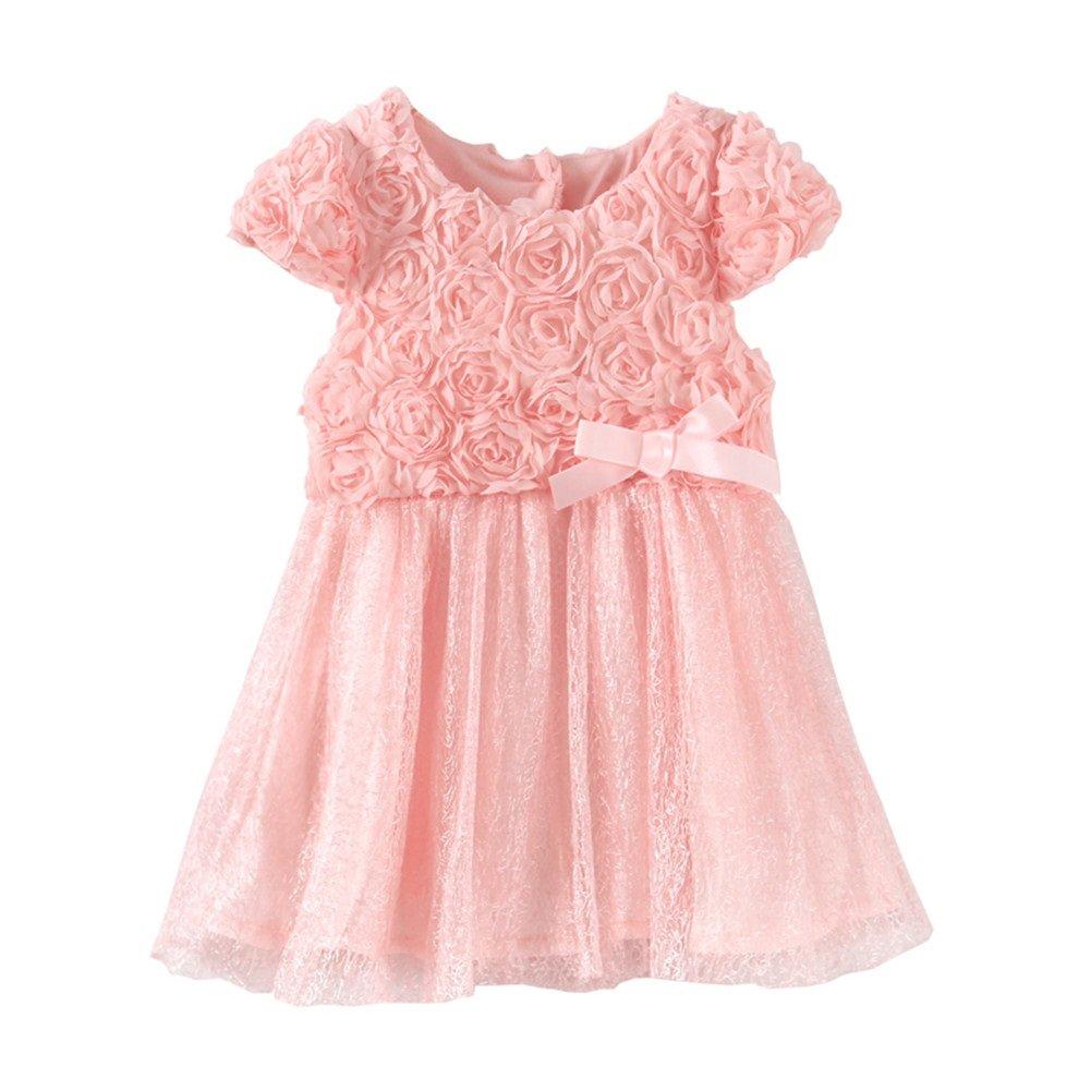 Mud Kingdom Baby Girl Flower Dresses