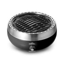 Grillerette Pro - The Smartest Portable BBQ Grill - Take Anywhere BBQ Grill - Battery Powered Fan - Anthracite Black Color