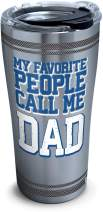 Tervis Dad Favorite Stainless Steel Insulated Tumbler with Lid, 20oz
