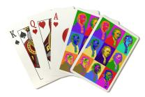 Alexander Hamilton - Pop Art (Playing Card Deck - 52 Card Poker Size with Jokers)