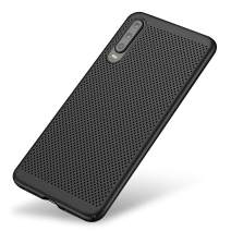 Olixar for Huawei P30 Slim Case - Heat Dissipating Mesh Cover - MeshTex - Cooling Case - Breathable Case - Wireless Charging Compatible - Black - (Huawei P30 2019)