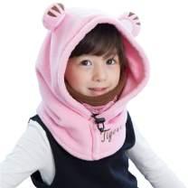 Azarxis Kids Balaclava Fleece Ski Face Mask Hat Neck Warmer Nose Cover Winter Animal Hood Cap for Boys Girls