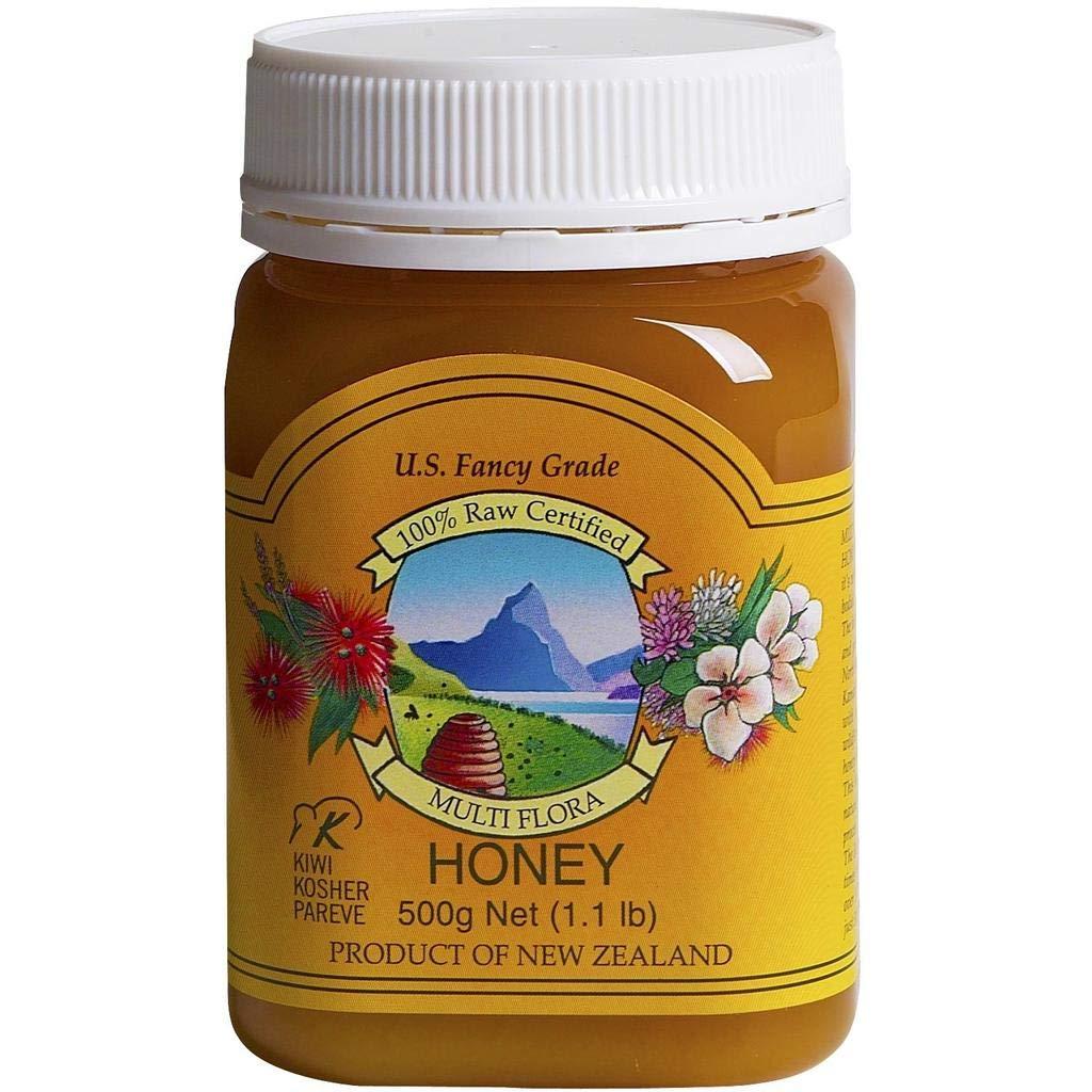 Pacific Resources Multi Flora Honey, 500g, 1.1 lb.