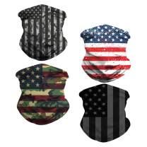 Unisex Seamless Bandana Neck Gaiter Tube Mask Headwear, for Motorcycle Face Scarf Fishing Mask