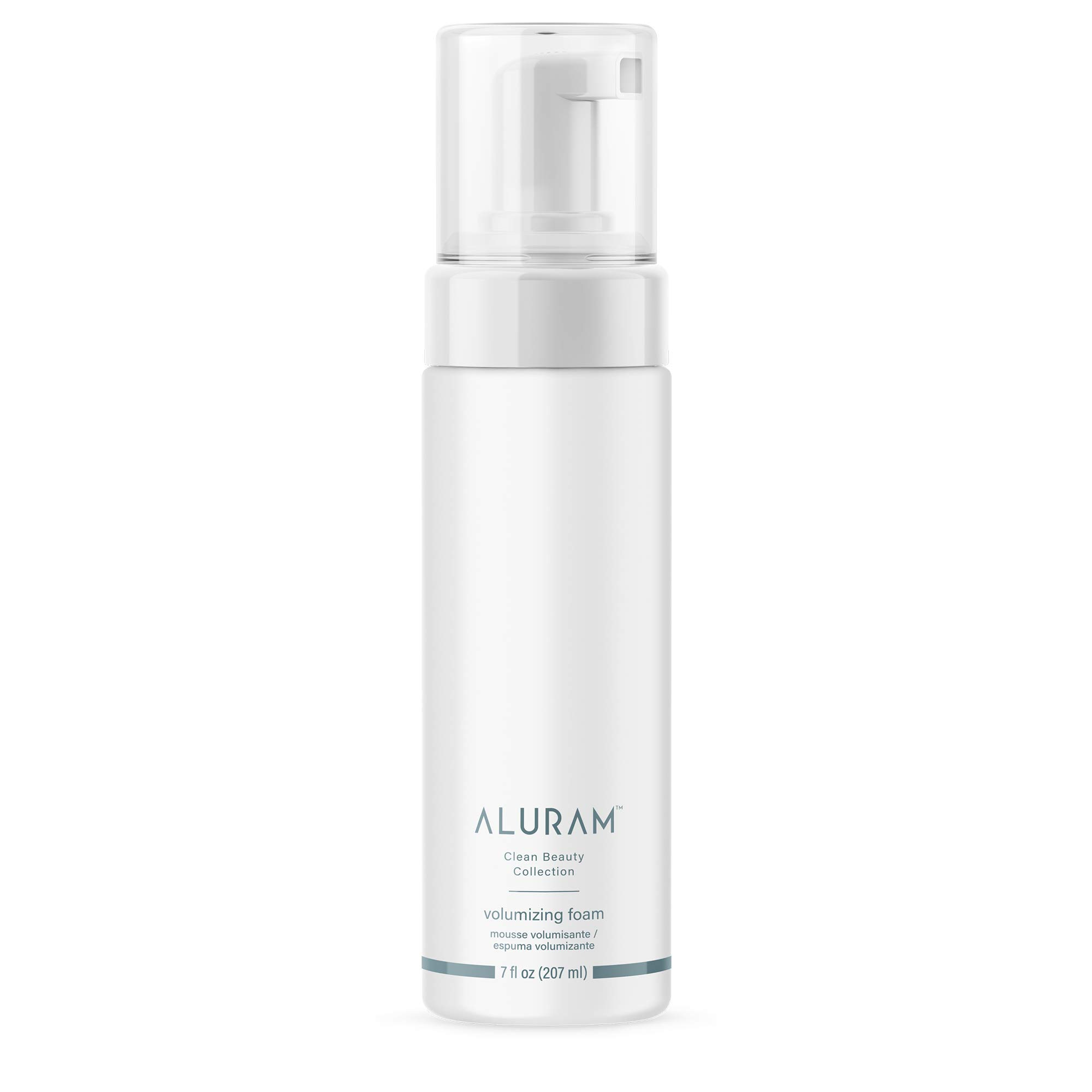 Aluram Coconut Water Based Hair Volumizing Foam | Defines Curls, Controls Frizz, Adds Shine (7 Fl Oz) Infused with Algae Extract & Biotin | Clean Beauty - Sulfate & Paraben Free