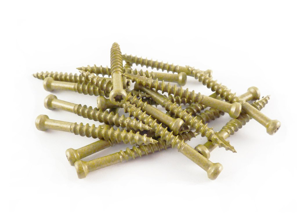 WoodPro Fasteners TH7X112-1 Number-7 by 1-1/2-Inch Trim Head Wood Construction Screws, T10, 1-Pound Net Weight, 245-Piece