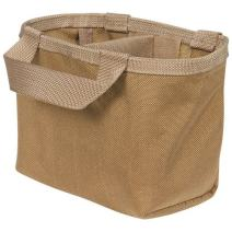 Atlas 46 AIMS Split-Top Fastener Pouch Insert with Divider, Coyote | Hand crafted in the USA