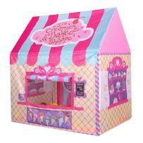 Unichart Kid Princess Indoor Outdoor Playtents Ice Cream and Bakery Shop Play Tent,Pink