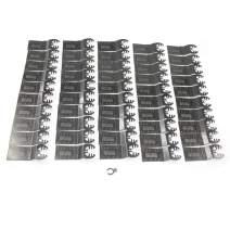 MacWork 50-Piece 1-3/8-inch Wood Oscillating Saw Blades BIM For Quick Release Multitools Wood Blades Univeral Fits for Black&Decker Craftsman DeWalt Dremel Ridgid Skil Milwaukee Rockwell Worx