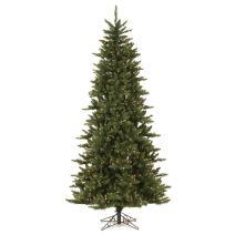 Vickerman 65' Camdon Fir Slim Artificial Christmas Tree with 550 Warm White LED Lights