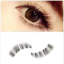 Dorisue Natural lashes Handmade Style Hooded Eyes Lightweight False Eyelashes Eye Makeup Fake Eyelashes