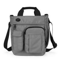 IBTXO Small Messenger Bag for Men and Women Multifunctional Crossbody Shoulder Bag College School Bookbag