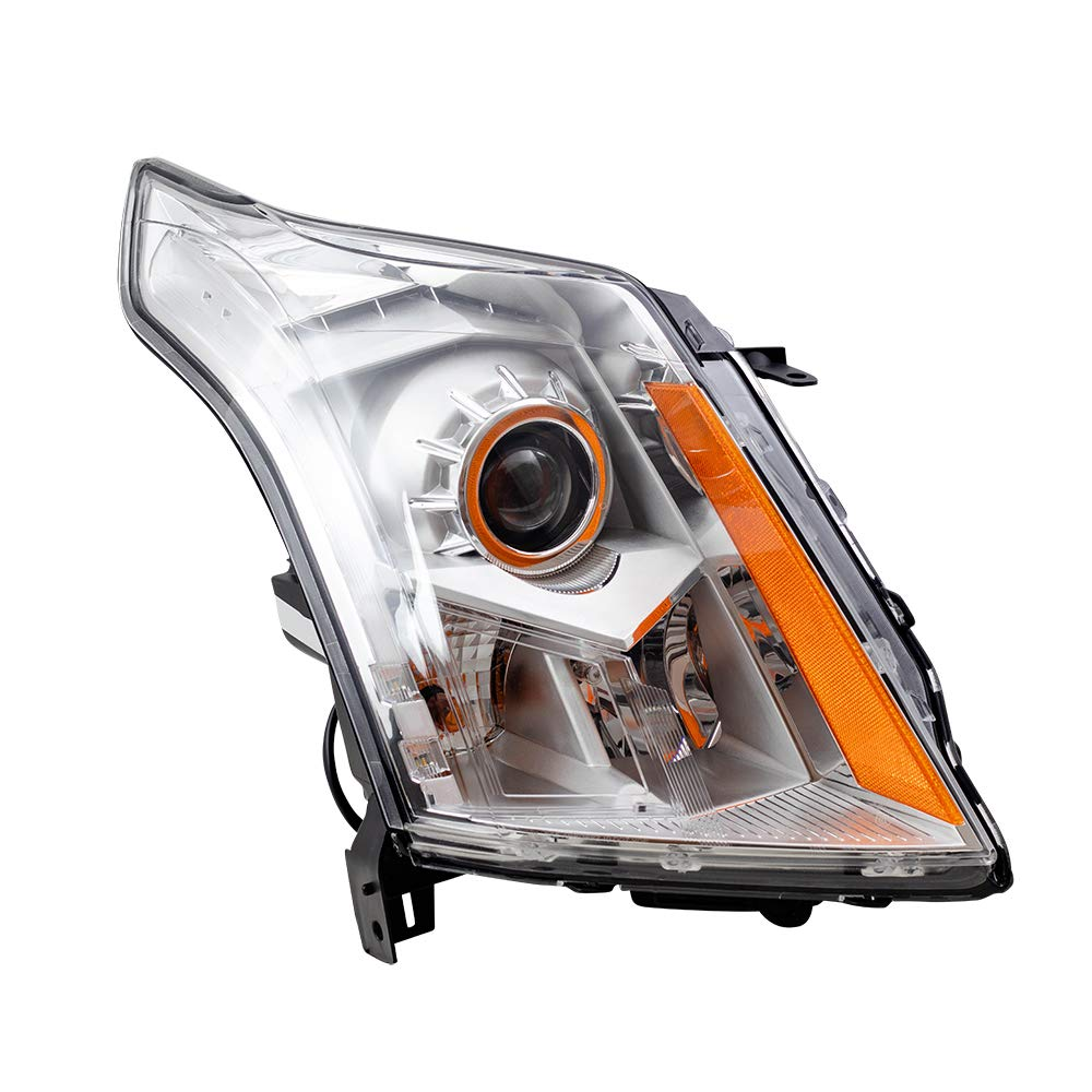 Aftermarket Replacement Passenger Halogen Headlight Compatible with 2010-2013 SRX 22853873 2503345