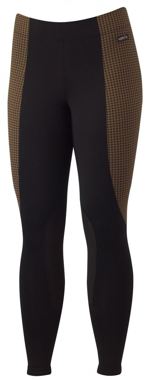 Kerrits Performance Tight Flow Rise Saddle Houndstooth Size: Large
