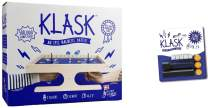 KLASK : The Magnetic Award-Winning Party Game of Skill That's Half Foosball, Half Air Hockey w/ Spare Parts 2.0