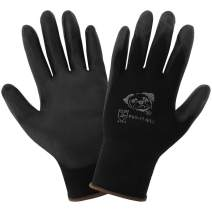 Global Glove PUG-17 - Lightweight Seamless General Purpose PU Dipped Glove - X-Small
