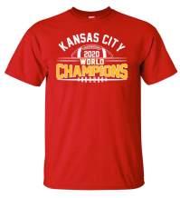 Kansas City Football Fans World Champions Championship T-Shirt