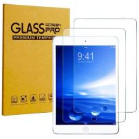 [2 Pack] iPad Pro 9.7 (2016) Tempered Glass Screen Protector, 9H Tough 0.30mm Bubble-Free Anti-Scratch Self-Adhere Easy-to-Install for Apple iPad Pro 9.7 2016