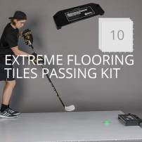 Better Hockey Extreme Dryland Flooring Tiles Passing Kit - Awesome Training Aid for Shooting and Stickhandling - Puck Rebounder for One-Timers