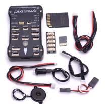 Readytosky Pixhawk PX4 Flight Controller PIX 2.4.8 32 Bit Flight Control Board+Safety Switch+Buzzer+I2C Splitter Expand Module+16GB SD Card