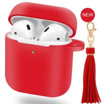 EYEKOP AirPods Case with Tassels (Red)