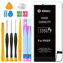 3350mAh Battery for iPhone 6s Plus, XinXu iPhone 6s Plus Battery Replacement Kit High Capacity Lithium-ion Battery with Professional Full Set Tool Kits and Screen Protector