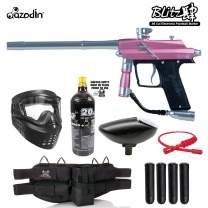 Maddog Azodin Blitz 4 Silver Paintball Gun Package