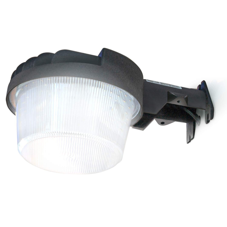 Home Zone Security LED Area Light - Outdoor Dusk to Dawn Ultra Bright 5000K LED Barn Light, ETL Listed