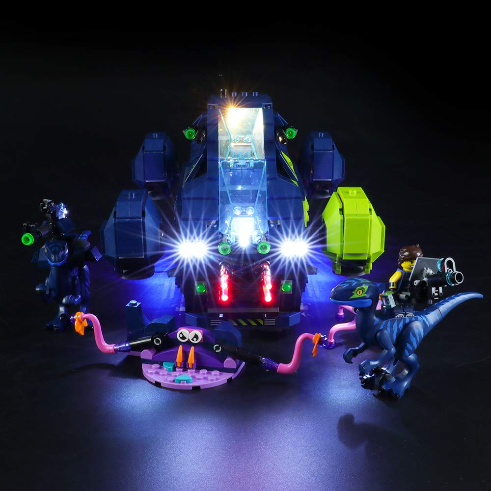 BRIKSMAX Led Lighting Kit for Rex's Rexplorer! - Compatible with Lego 70835 Building Blocks Model- Not Include The Lego Set