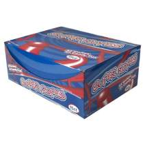 """Super Ropes 34"""" Individually Wrapped Rope, 2oz (15 Pack), Red Licorice Candy Rope"""