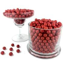 Color It Candy Red Sixlets 2 Lb Bag - Perfect For Table Centerpieces, Weddings, Birthdays, Candy Buffets, & Party Favors.