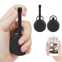 Mini Hidden Camera DIY Small Wireless Spy Camera Tiny WiFi Security Cam Covert Nanny Camera True 1080P Cams for Home Office Remote View via App
