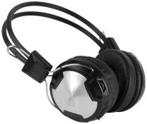ARCTIC P402BT Bluetooth Stereo Headphones with Integrated Mic, A2DP/AVRCP, 30-Hour Playback for Tablet/Smartphone/MP3 - Black