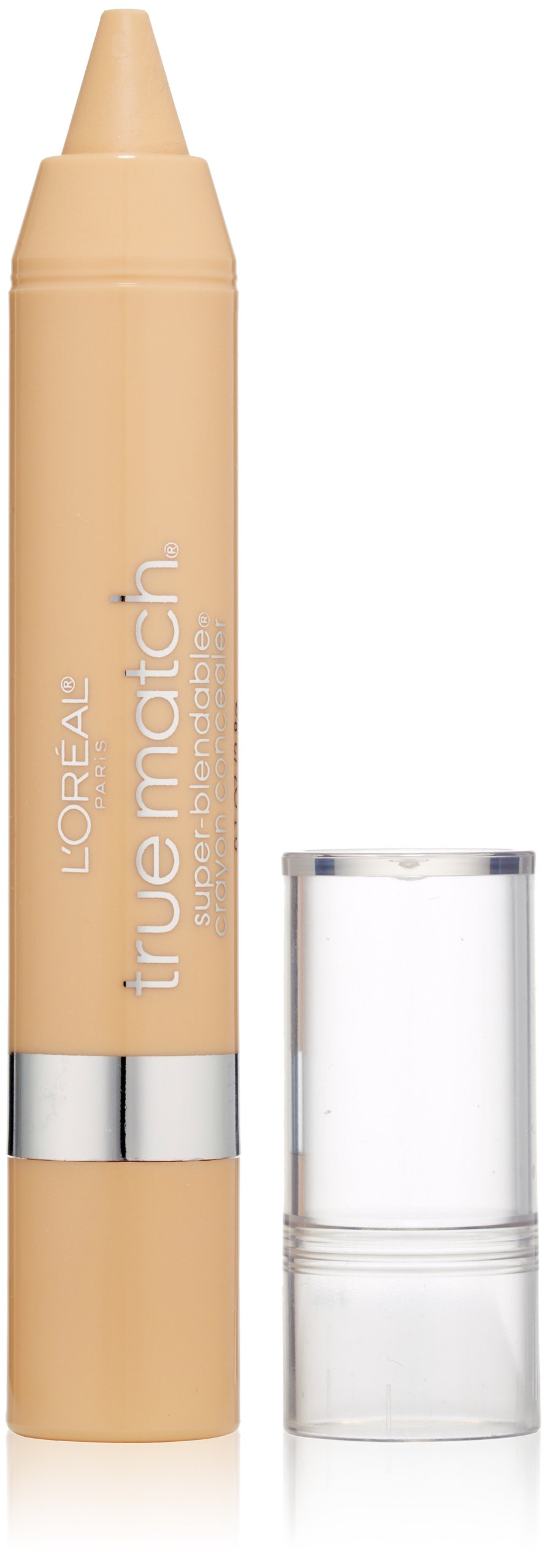 L'Oreal Paris True Match Super Blendable Crayon Concealer, Fair/Light Warm, 0.1 oz.