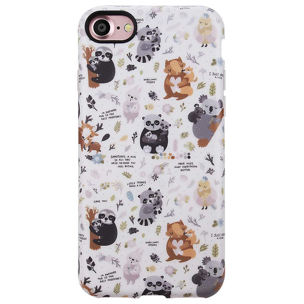 GOLINK iPhone 7 Case/iPhone 8 Case for Girls, Matte Finish Cute Series IMD Slim-Fit Anti-Scratch Shock Proof Anti-Finger Print Flexible TPU Gel Case for iPhone 7/8 4.7 inch Display-Panda