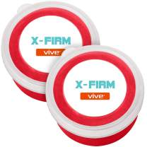 Vive Therapy Putty X-Firm (2-Pack) for Finger, Hand & Grip Strength Exercises - Extra Soft, Soft, Medium and Firm Resistance Kit for Occupational, Physical Therapy, Thinking and Stress