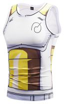 PIZOFF Unisex 3D Cartoon Print Work Out Compression Muscle Tank Top