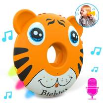 Biebies Tunes, Light up Baby Music Toy and Toys for Baby with White Noise and Recordable Sound Musical Toy Machine Sing Along, Rechargeable, Portable Musical Sleep Soother for Boys and Girls