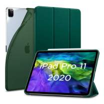 ESR for iPad Pro 11 Case 2020 & 2018, Rebound Slim Smart Case with Auto Sleep/Wake [Viewing/Typing Stand Mode] [Flexible TPU Back with Rubberized Cover] - Pine Green