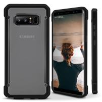 Galaxy Note 8 Case, Evocel [Slim Profile] [Lightweight] [Frosted Back] [Single Piece] 2K Series for Galaxy Note 8, Black (EVO-SAMNOTE8-KK01)