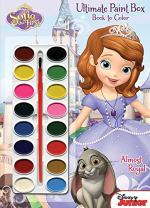 Bendon Sofia The First Ultimate Paint Box Coloring and Activity Book, 64 Pages (10334)