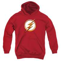 The Flash TV Series Logo Kids Youth Pullover Hoodie & Stickers