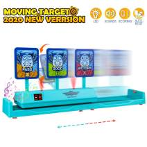OFUN Moving Shooting Targets, Electronic Scoring Auto Reset Digital Targets for Nerf Toys Guns - Intelligent Light, Sound Effect, Cute Practice Targets Toys Gifts