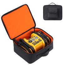 Carrying Bag Protective Case Compatible for DEWALT DCC020IB 20V Max Inflator with Battery and Charger(Black)