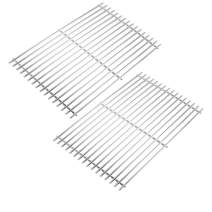 Stanbroil Stainless Steel Gas Grill Cooking Grate for Weber Spirit II and Spirit II LX 300 Series Gas Grills, Replacement Parts for Weber 67023 - Set of 2