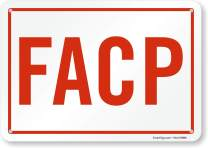 "SmartSign ""FACP"" Sign 