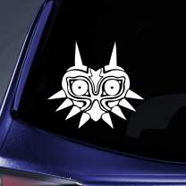 "Bargain Max Decals - Majora's Mask Sticker Decal Notebook Car Laptop 5"" (White)"