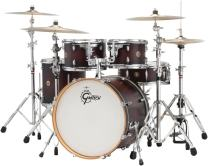 Gretsch Drums Catalina Maple CM1-E605-SDCB 5-Piece Drum Shell Pack, Satin Deep Cherry Burst